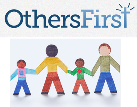 others first - charity funding - rick frazier - logo